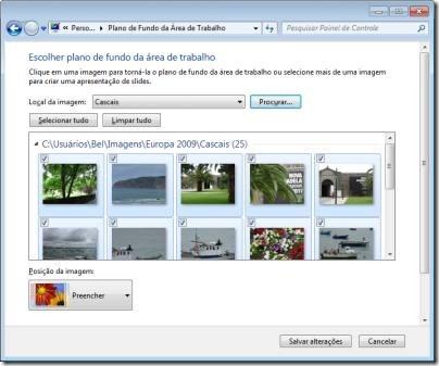 Troca de Visual doWindows 7