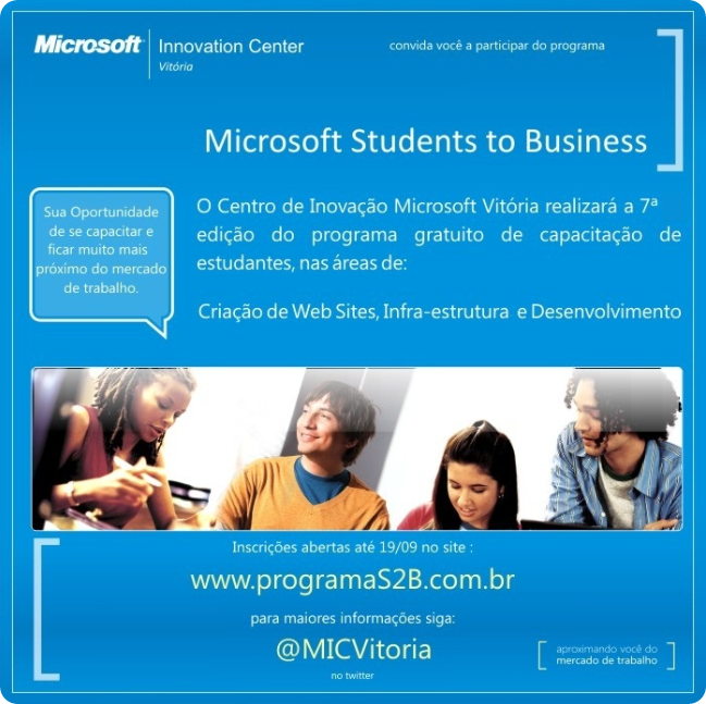 Microsoft Students to Bussines