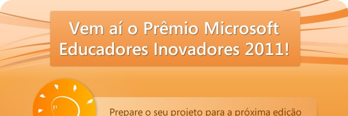 Microsofft Educadores Inovadores 2011