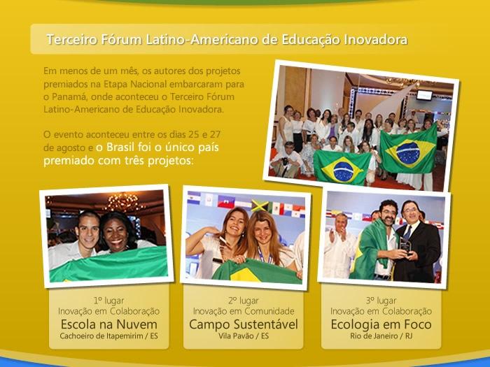 Terceiro Fórum Latino Amaricano de Educação Inovadora