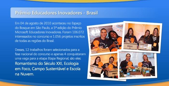 Prêmio Educadores Inovadores - Brasil
