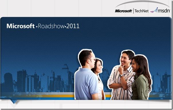 Microsoft RoadShow 2011