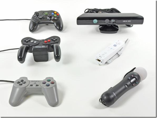 Evolução dos Controles