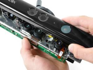 Detalhes do Kinect: