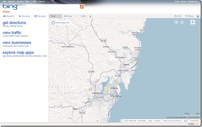 Bing Mapas