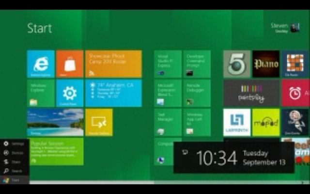 Windows 8 - Start