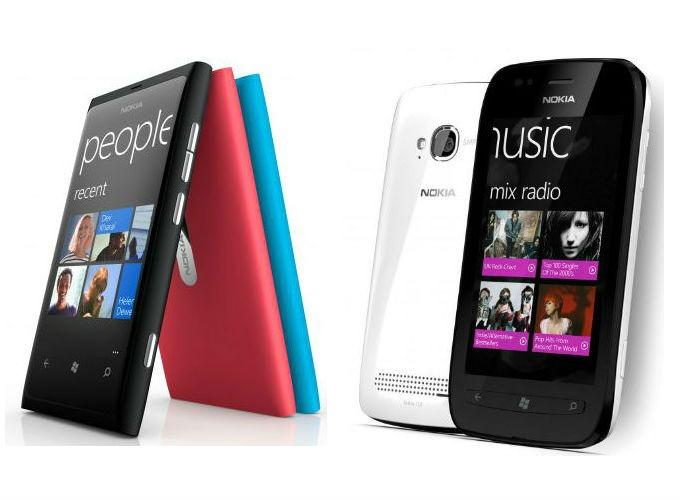 Nokia Lumia 800 e Lumia 710