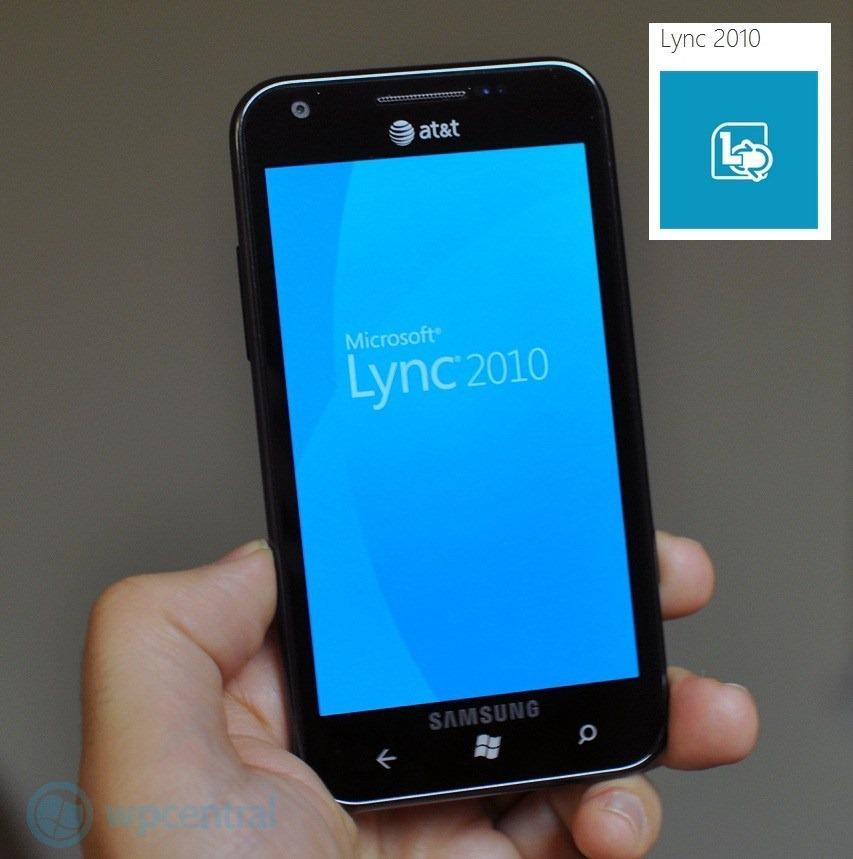 Microsoft Lync para Windows Phone