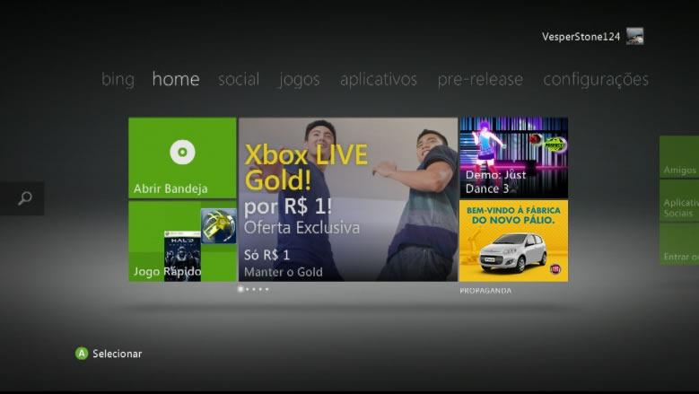 Xbox publicidade