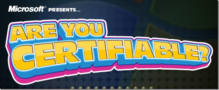 Você é Certificado?