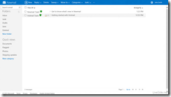 Newmail-Instant-Actions